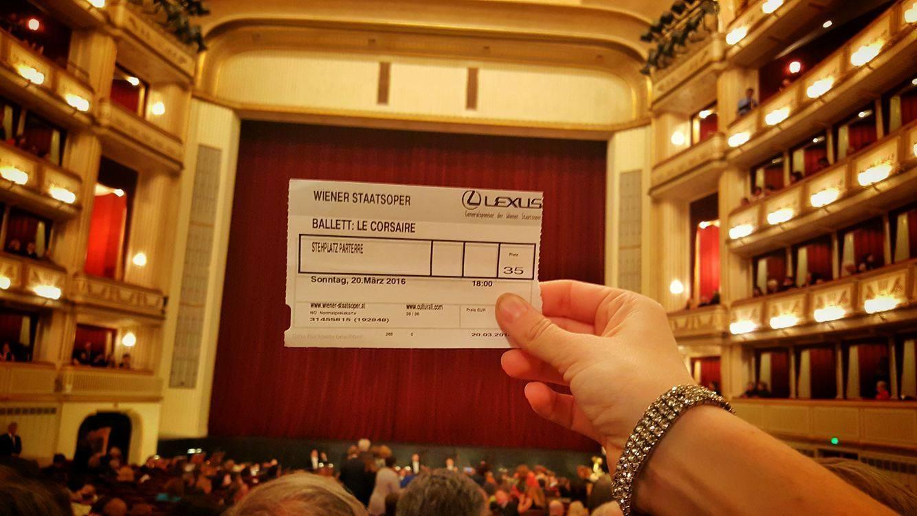 Билет в Венскую оперу