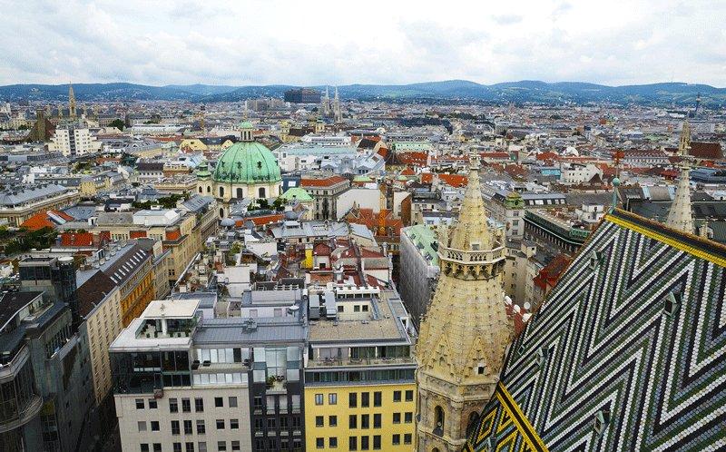 Вид со смотровой площадки Кафедрального собора