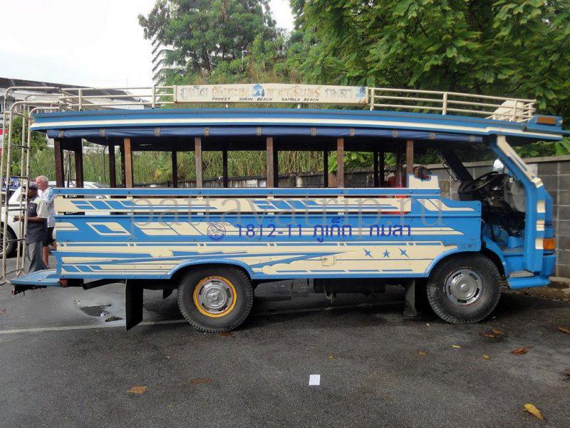 Автобус из Пхукета до Сурин бич