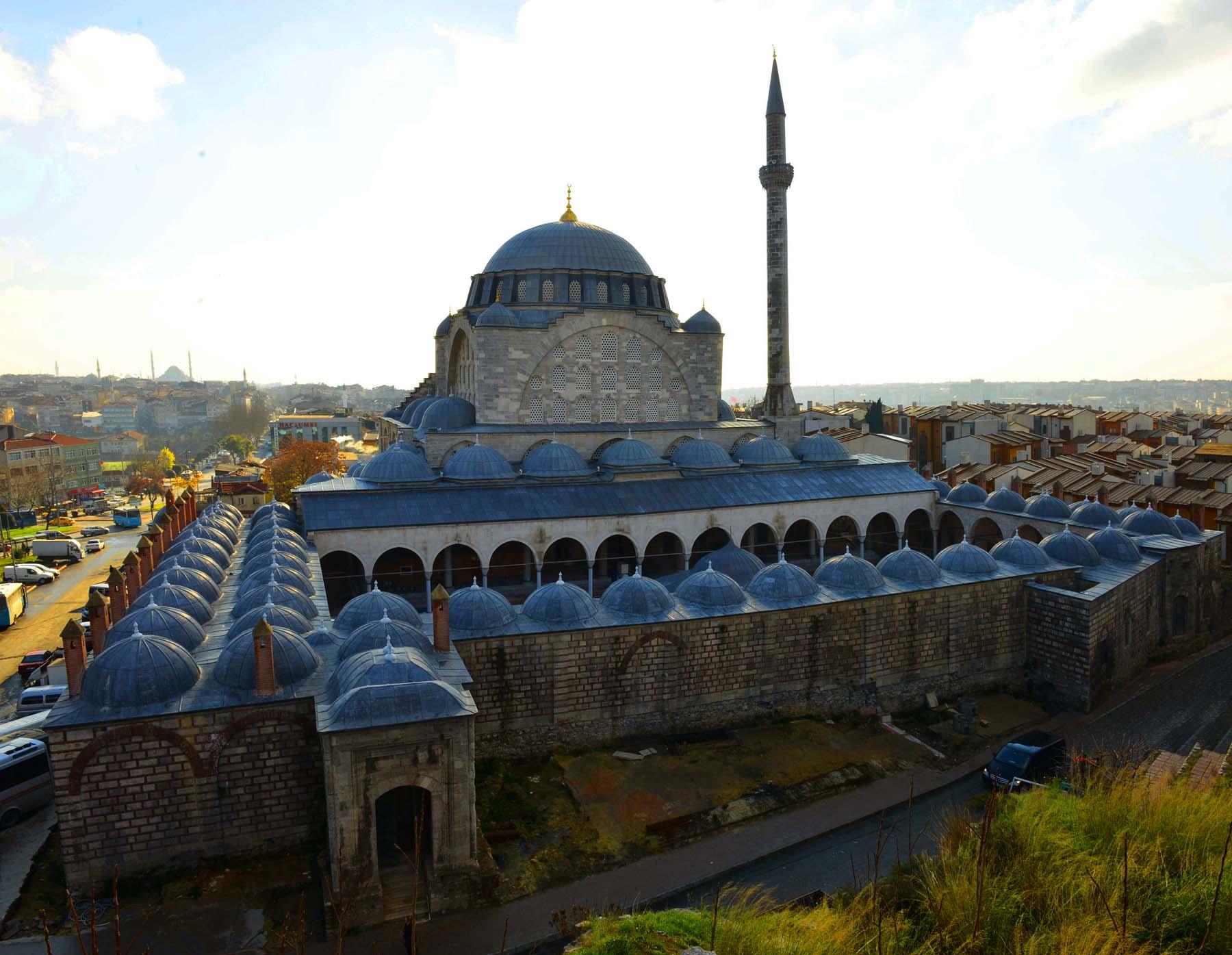 Мечеть Михримах Султан Эдирнекапы