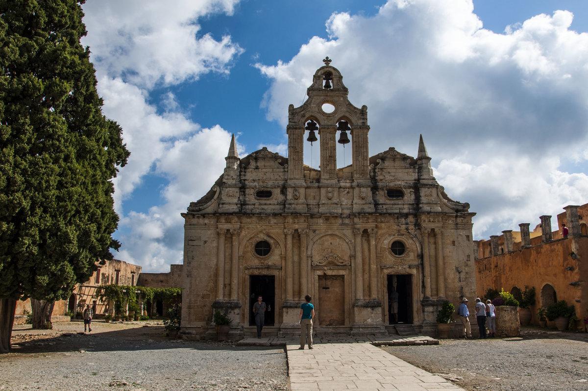 Монастырь Аркади , Крит