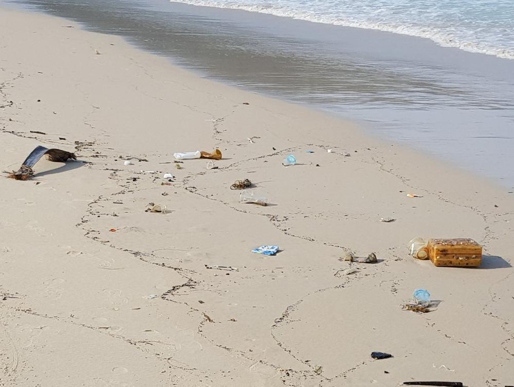 Чистота пляжа Патонг бич