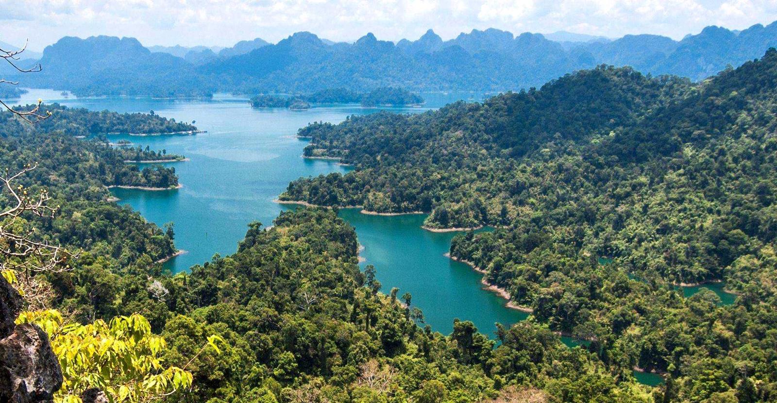 Национальный парк Кхао Сок, озеро Чео Лан