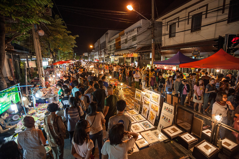 Ночной рынок, Чианг Май