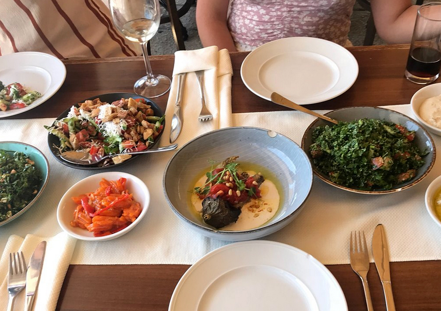 Обед в ресторане El Marsa Restaurant
