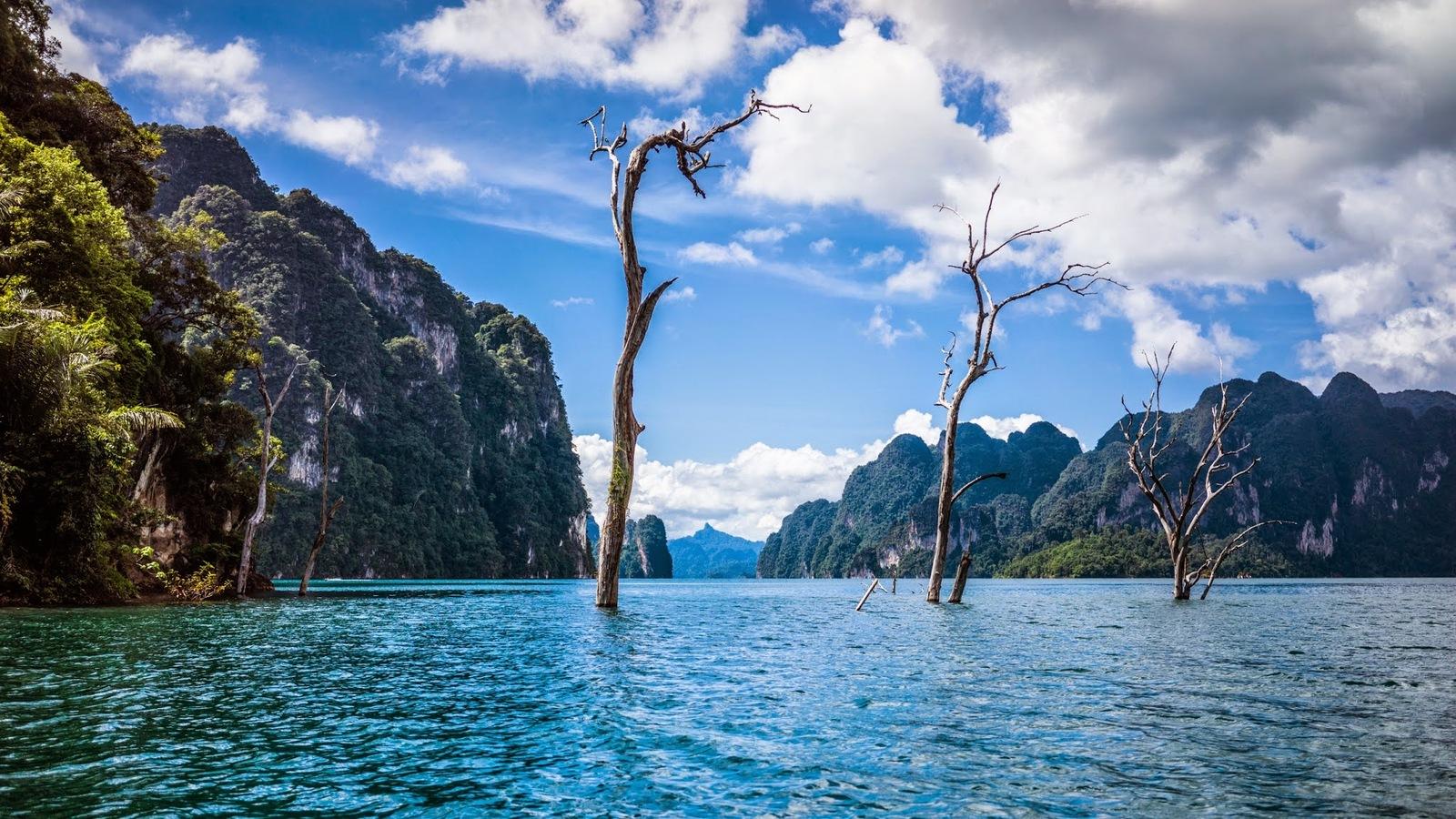 Озеро Cheow Lan Lake
