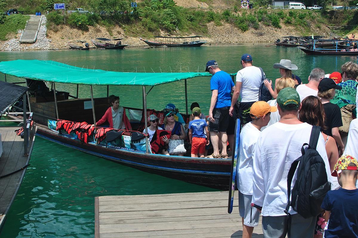Поездка на озеро Чео Лан