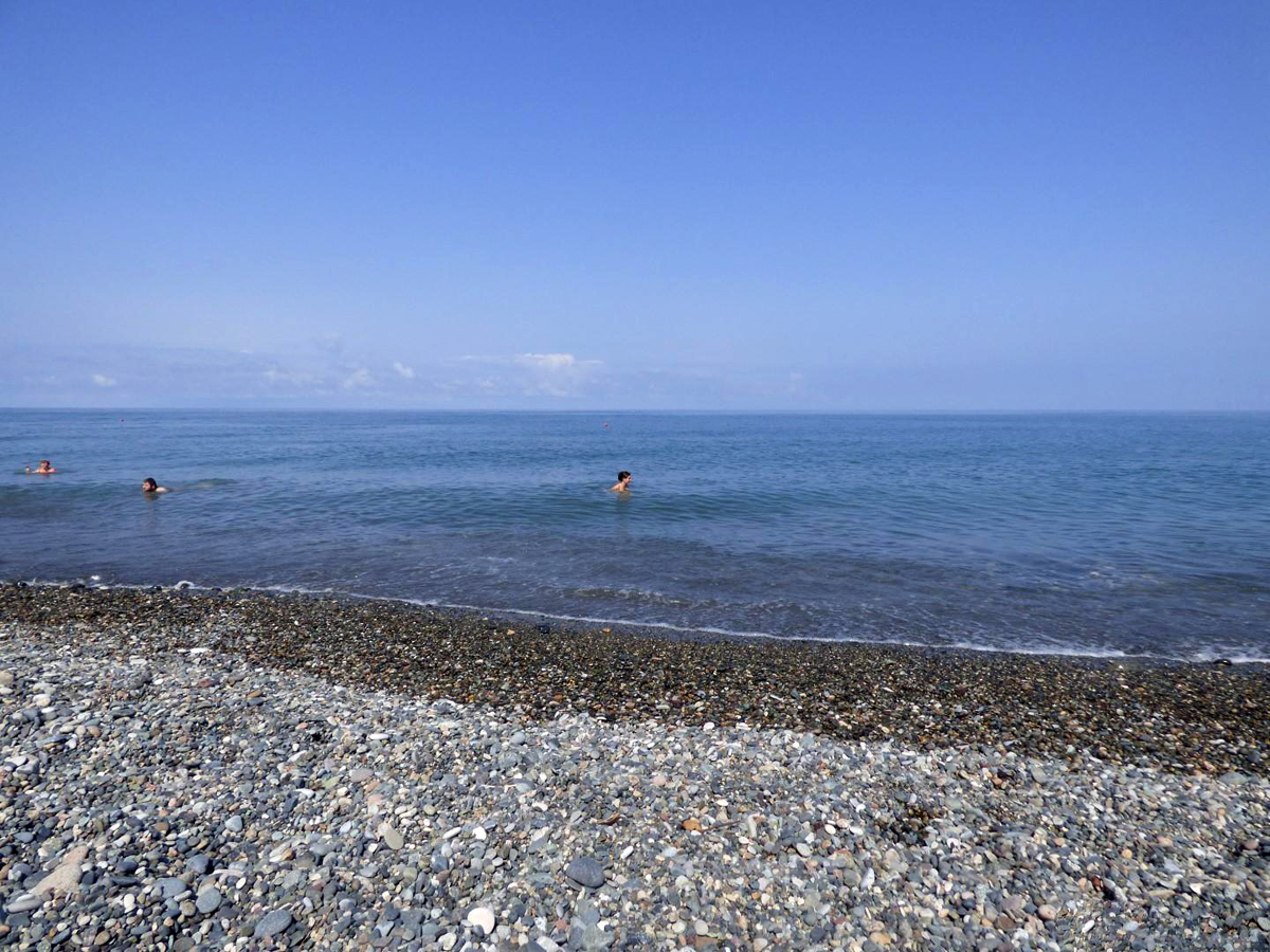 Пригородная зона пляжа