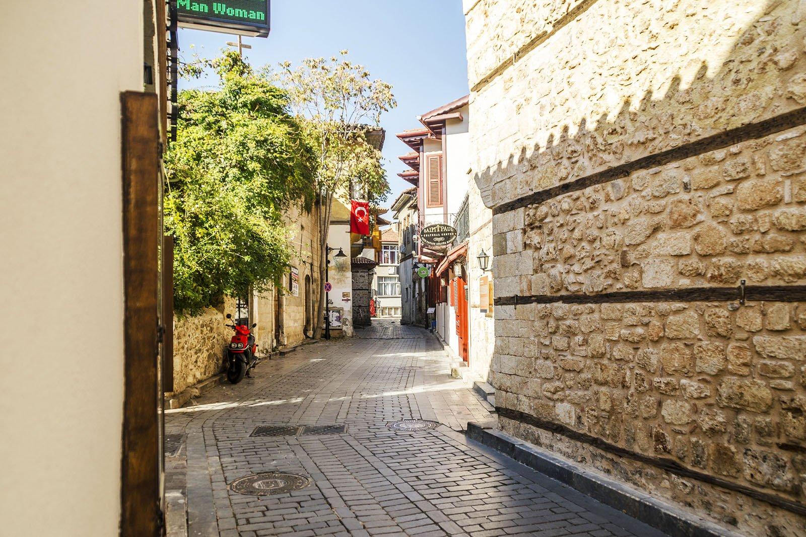 Улица Старого города