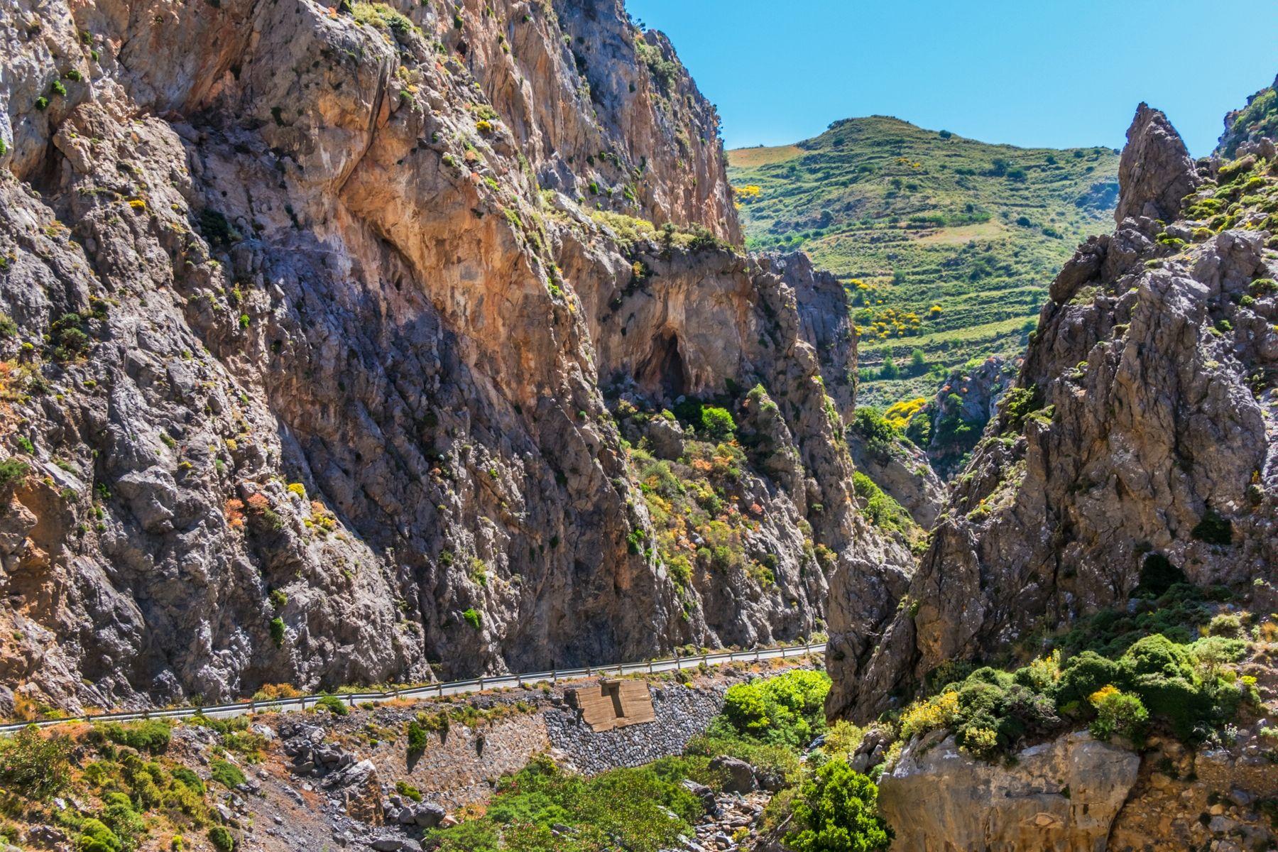 Ущелье Курталиотико, Крит