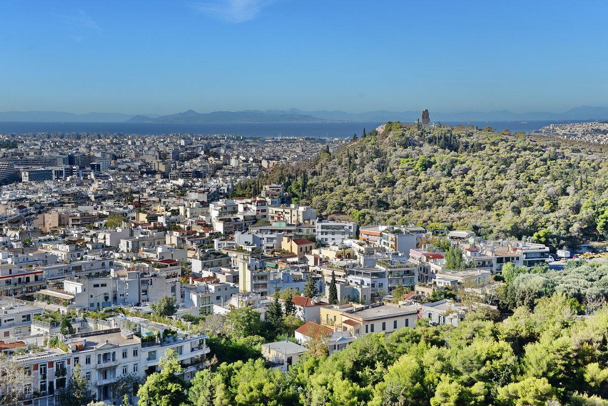 Вид на холм Филопаппу