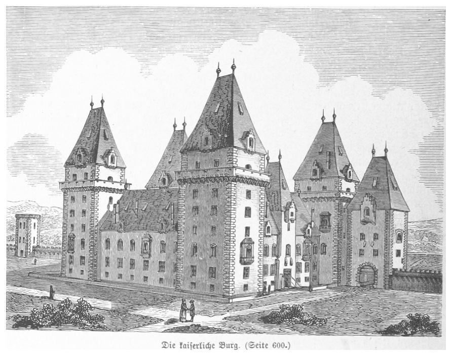 Замок в 16 столетии