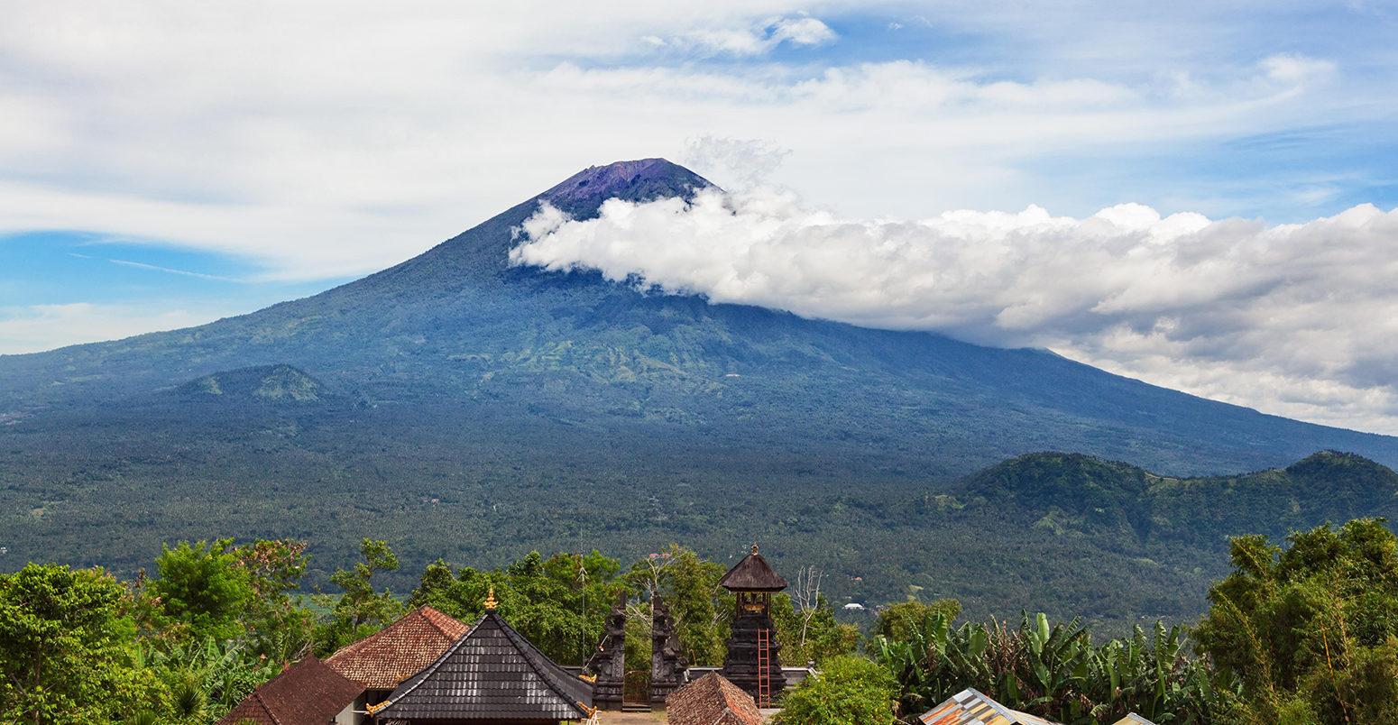 Вулкан на Бали
