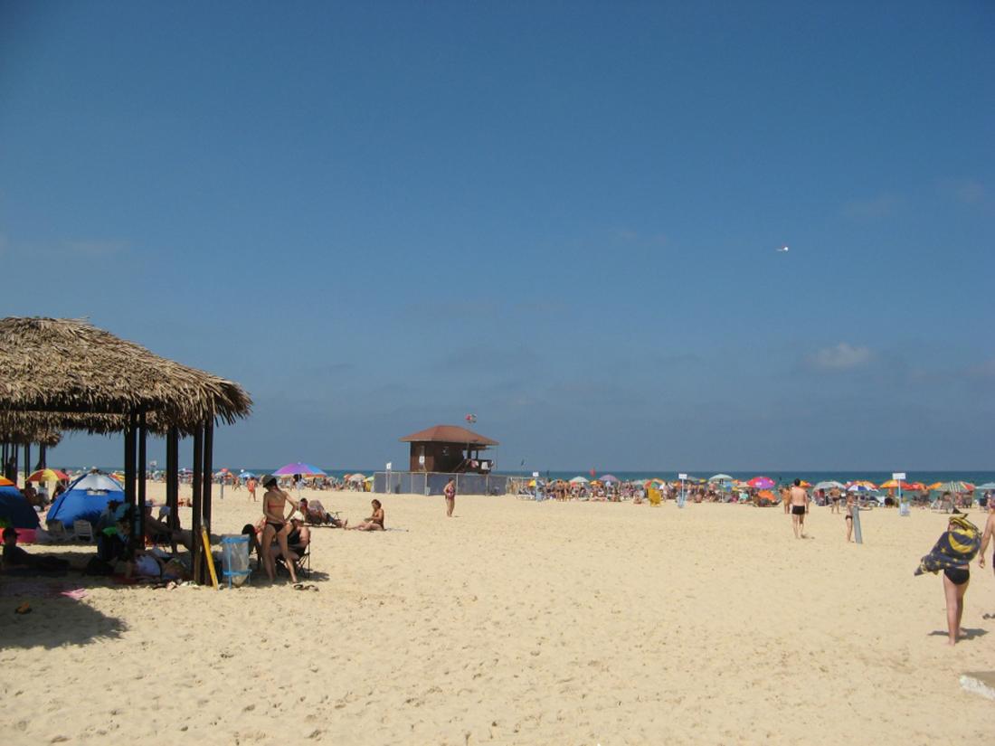 Пляж в Ашдоде
