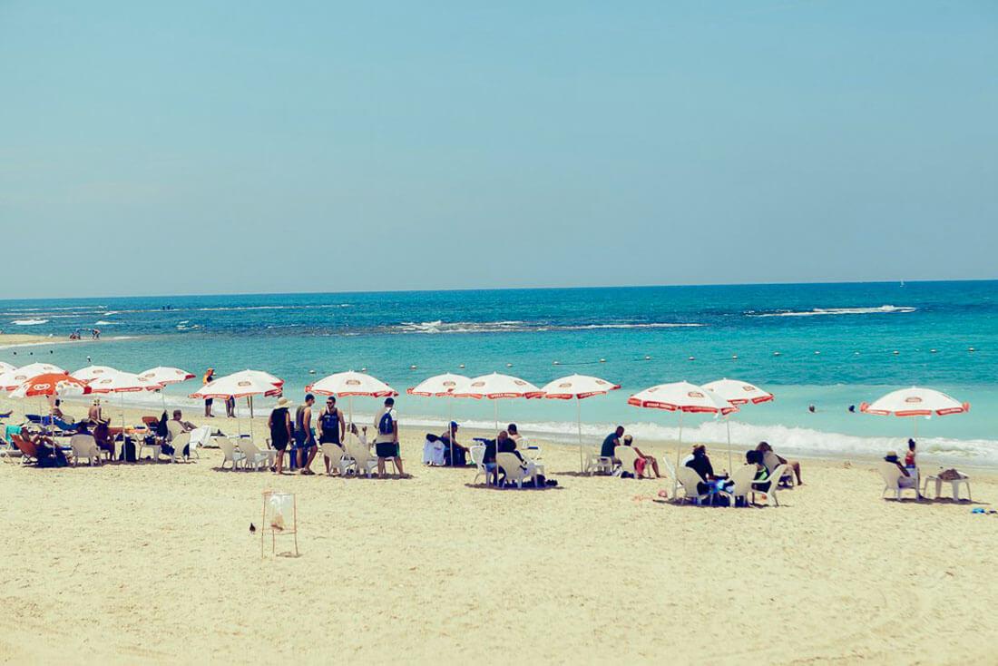 Аджами или Яффский пляж