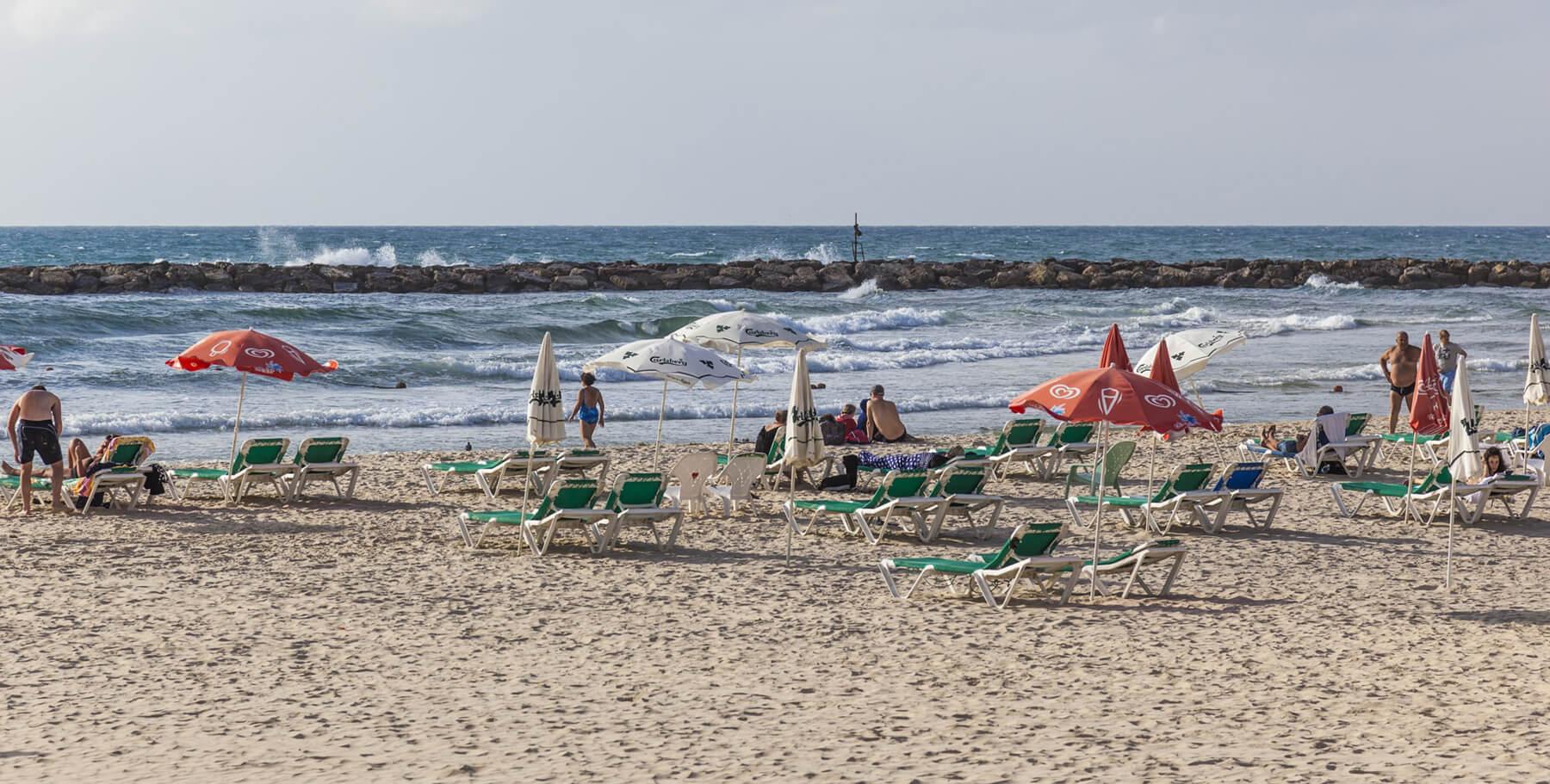 Пляж Банана-бич