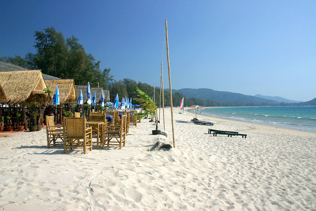 Пляж Банг Тао в Пхукета