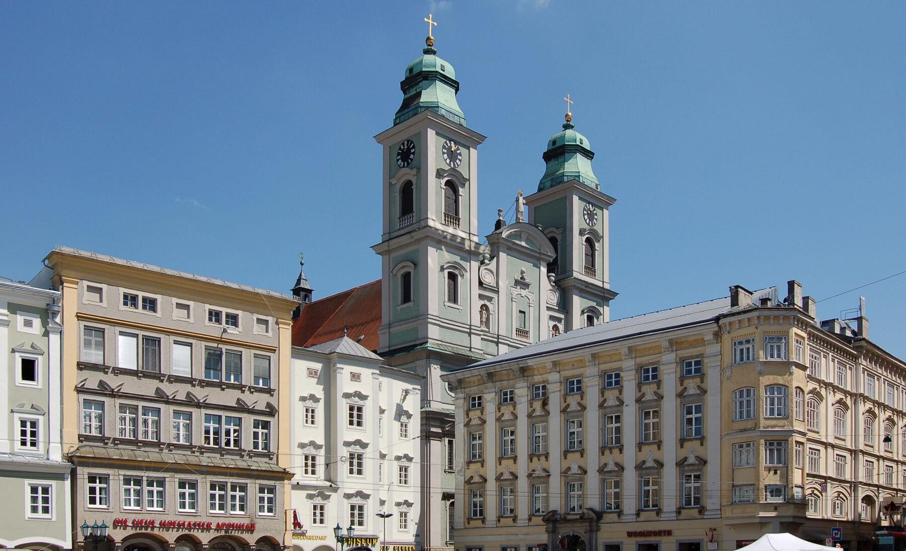 Старый собор в стиле барокко
