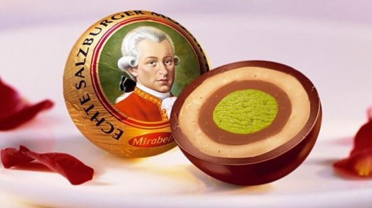 Конфета Echte Salzburger Mozartkugel