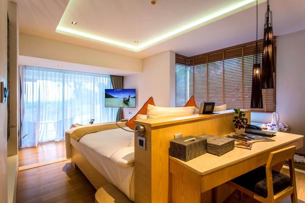 В номере отеля Crest Resort&Pool Villas
