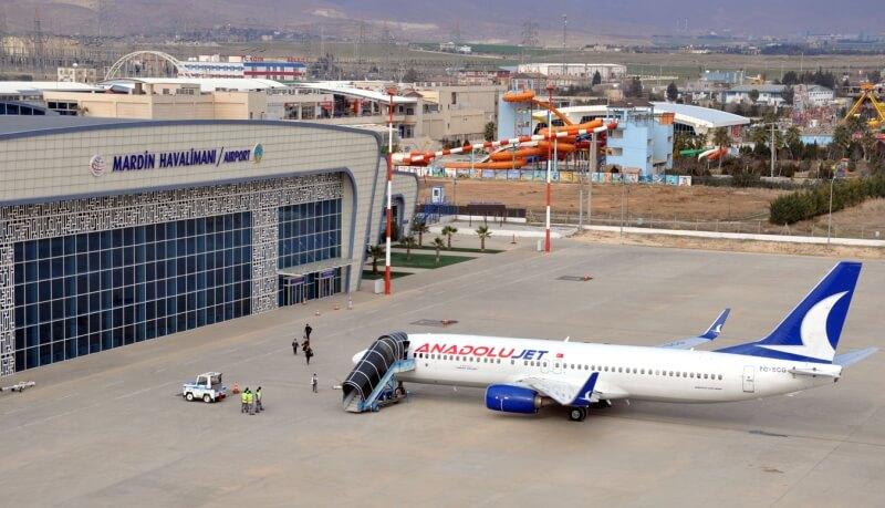 Аэропорт в Мардине, Турция