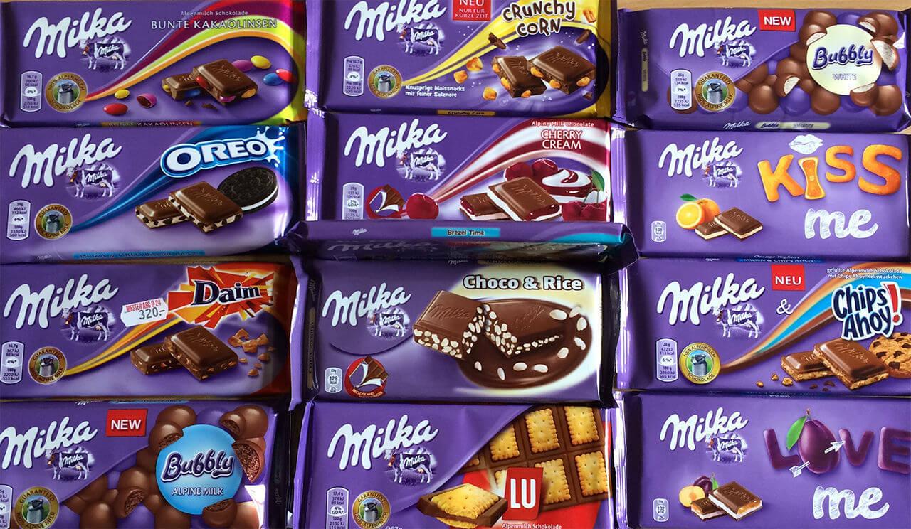 Шоколад Milka