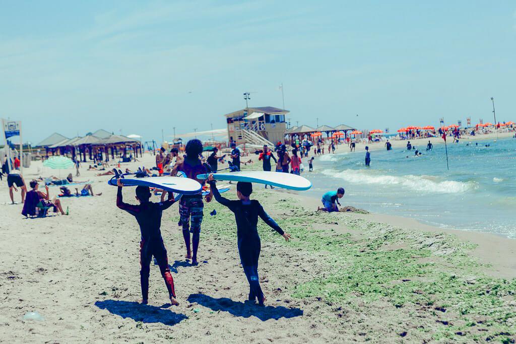 Tel-Baruh beach
