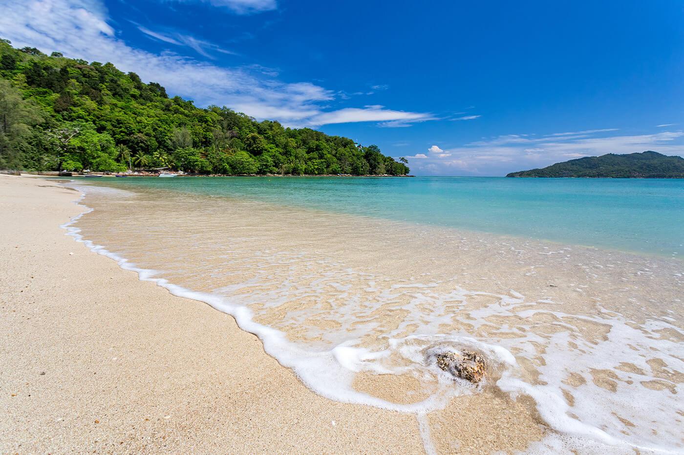 Песчаный пляж Tri Trang