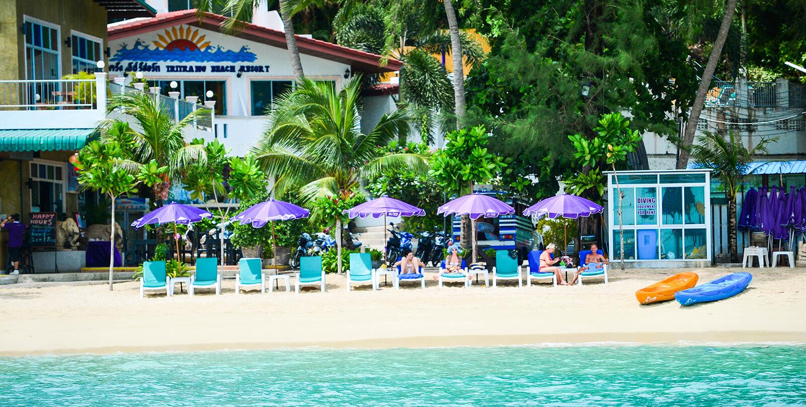 Отель Tri Trang Resort