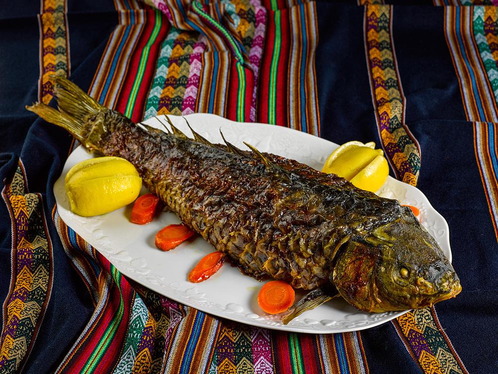 Блюдо из рыбы - символ плодородия