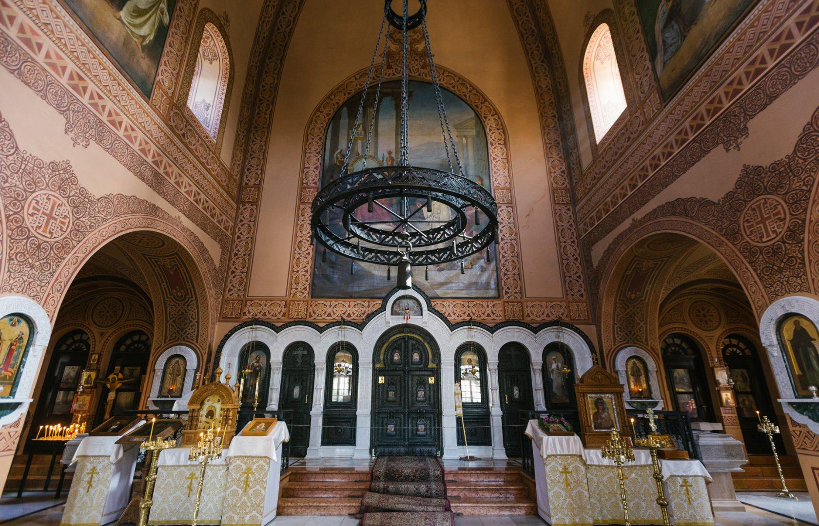 Внутри церкви Марии Магдалины