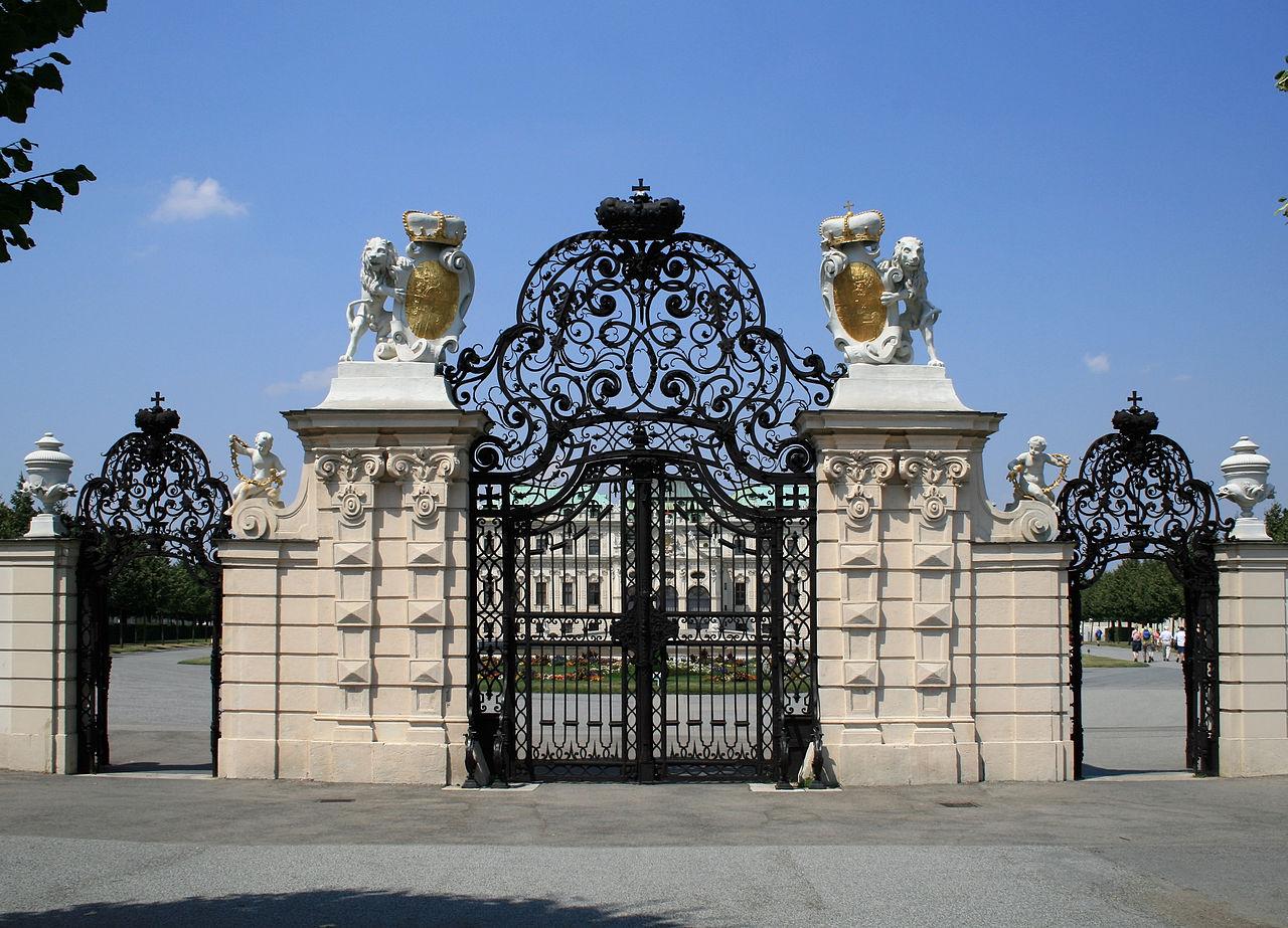 Ворота в Верхний Бельведер, Вена