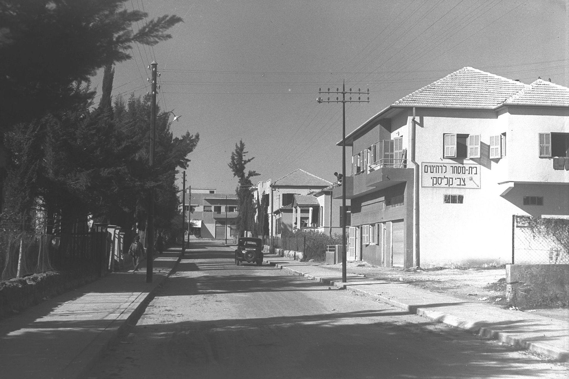 Город Ришон-ле-Цион в 1937 году