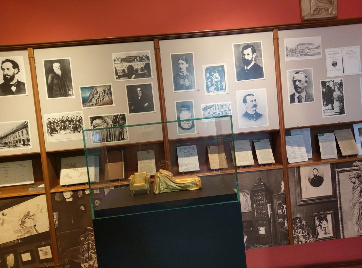 В музее Зигмунда Фрейда