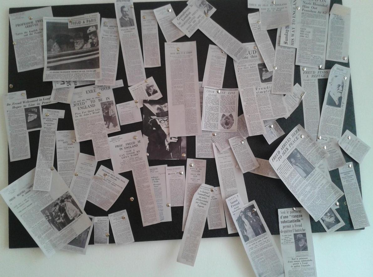 Газетные вырезки