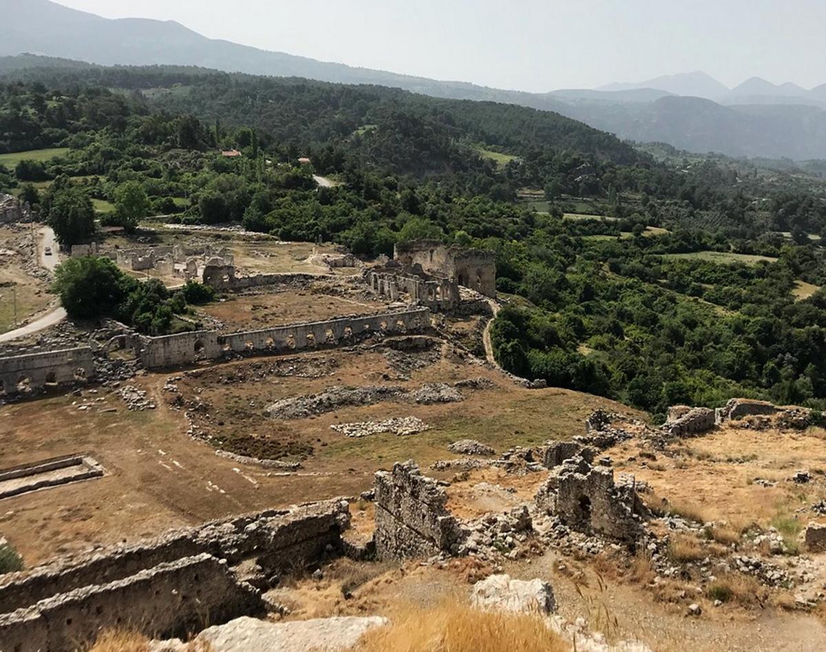 Руины Тлоса