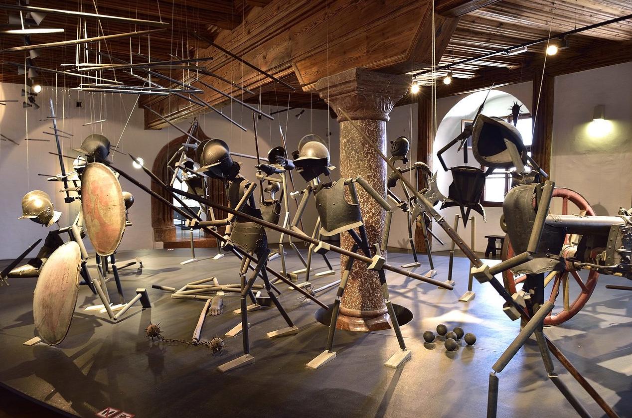 Выставка вооружения в Хоэнзальцбурге