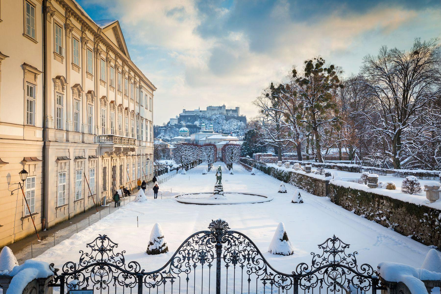 Зимний парк Мирабель