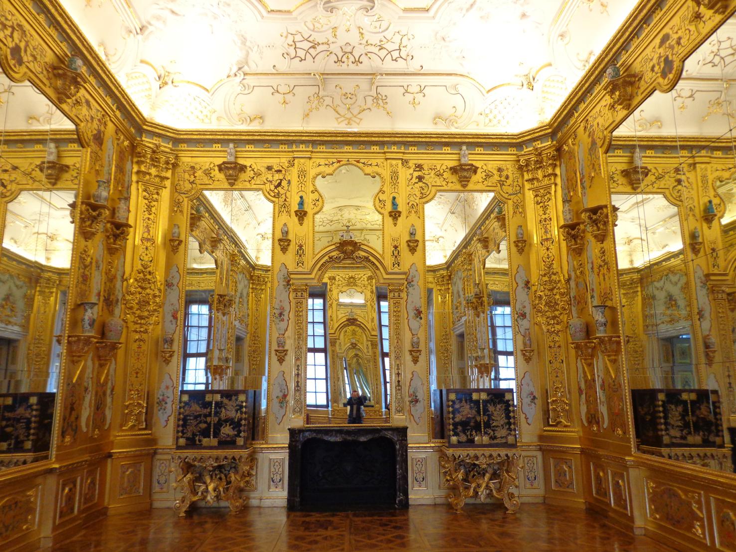 Золотой кабинет в Lower Belvedere
