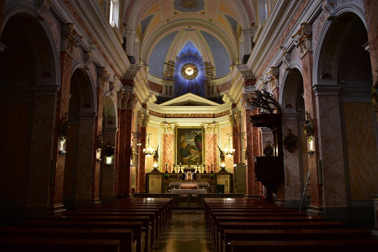 В церкви Апостола Петра