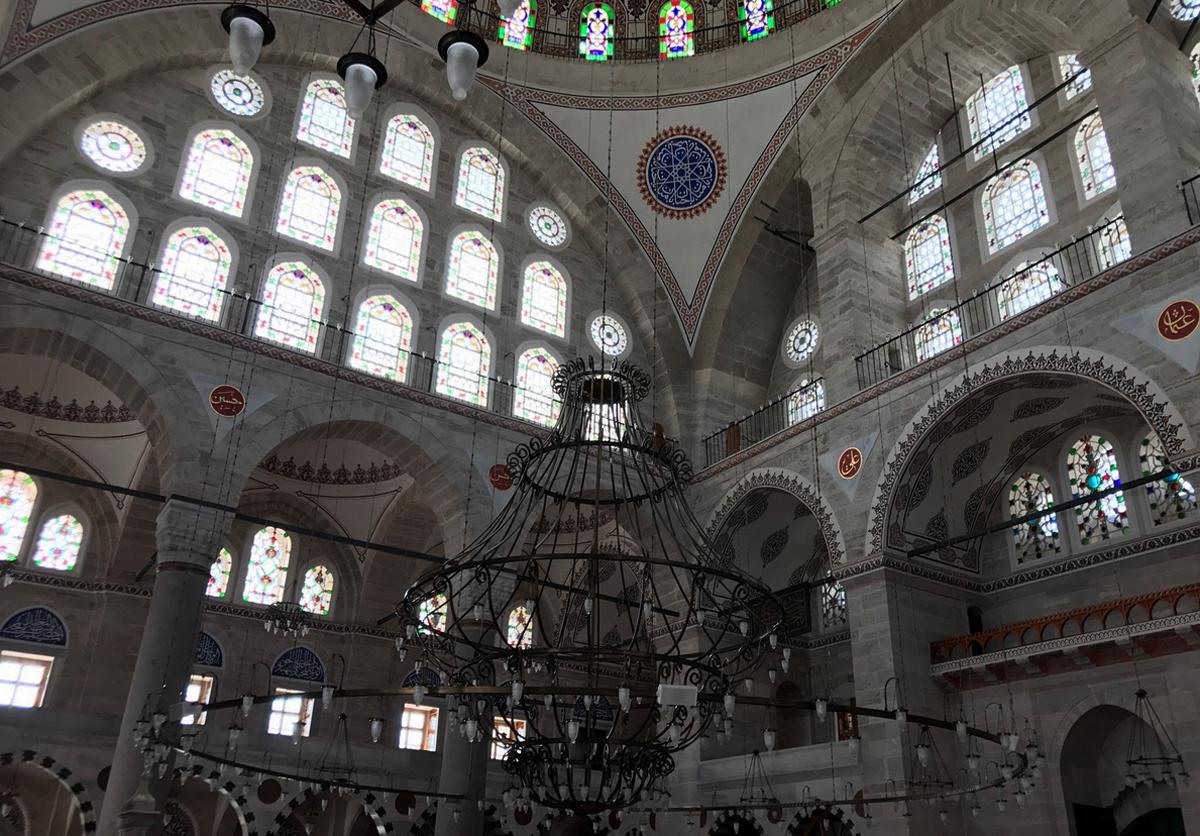 Оконные проемы мечети