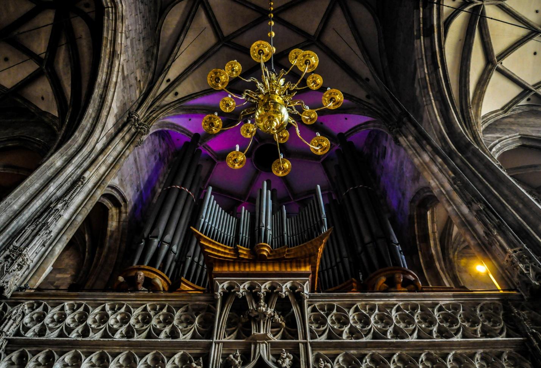 Орган в Соборе Святого Стефана