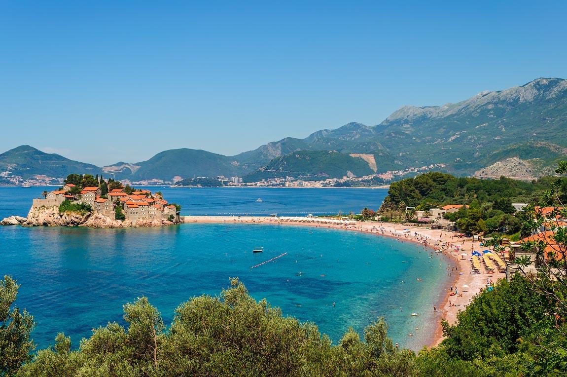 Пляж Адриатического моря