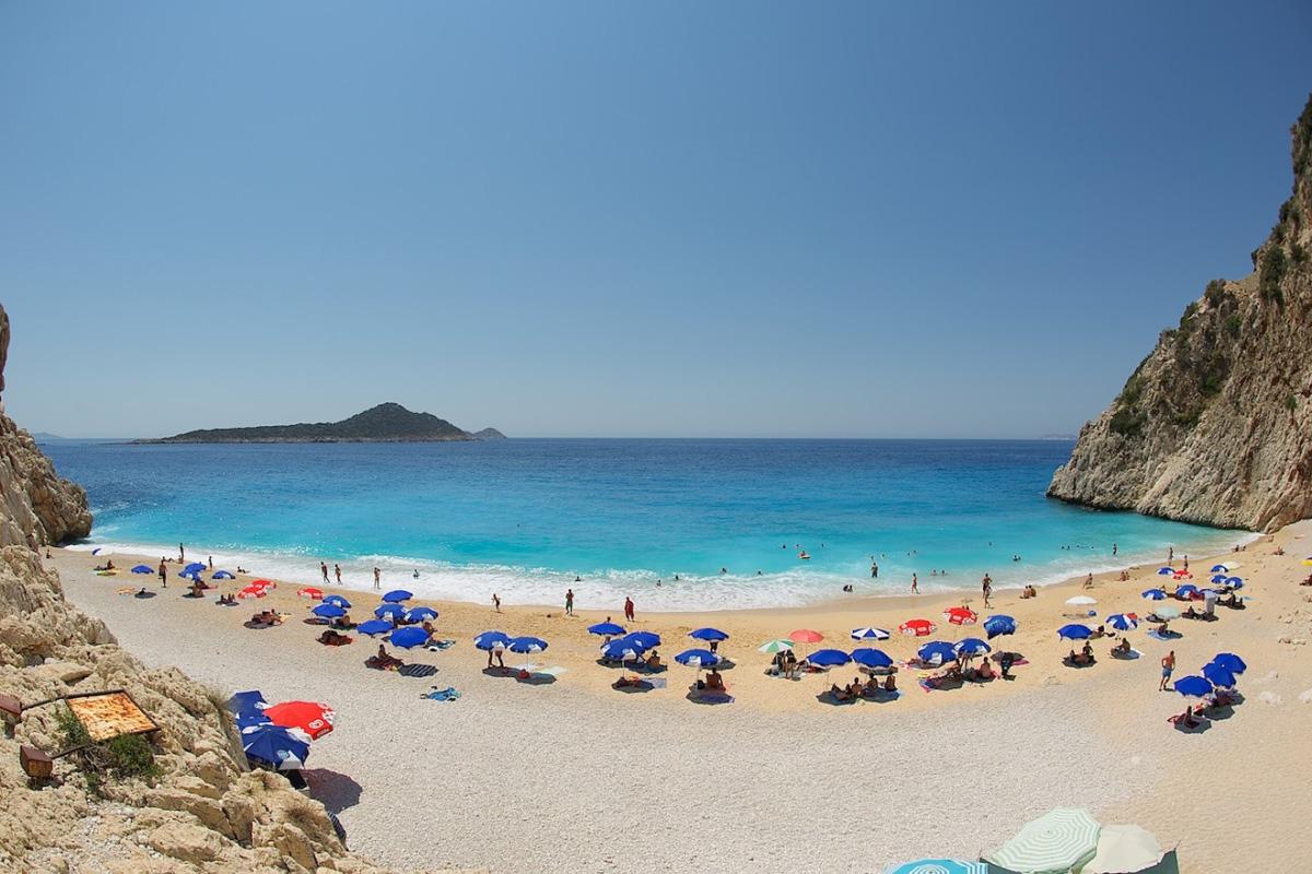 Пляж Капуташ в Турции