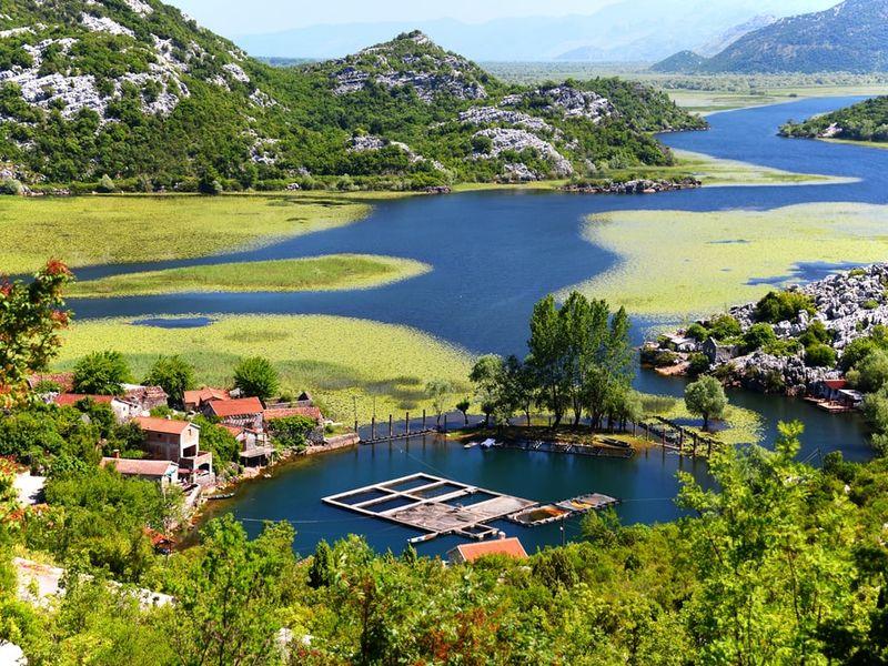 Экскурсия по Скадарскому озеру
