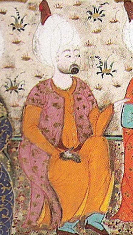 На картинке Рустем-паша