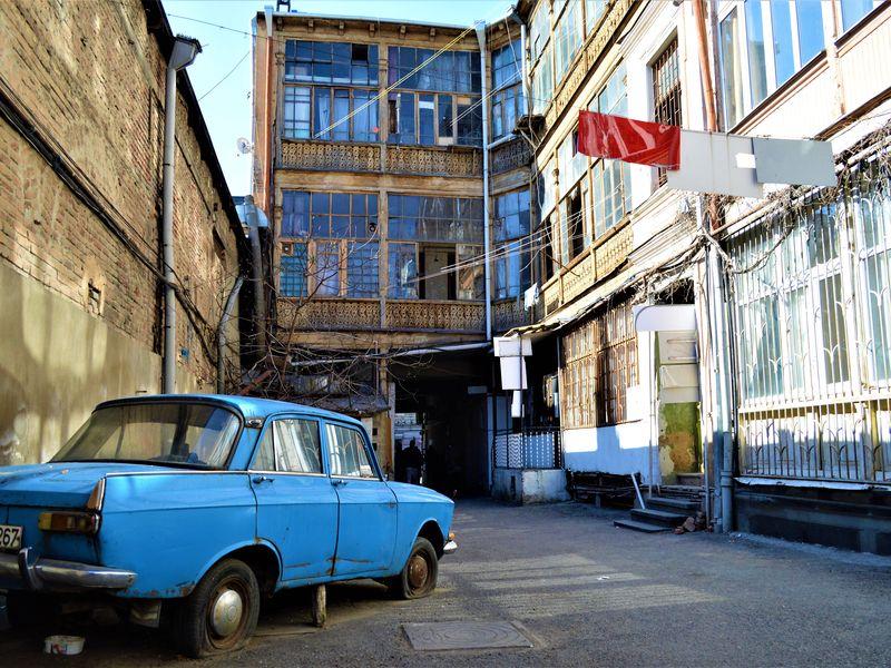 Экскурсия улочками Тбилиси