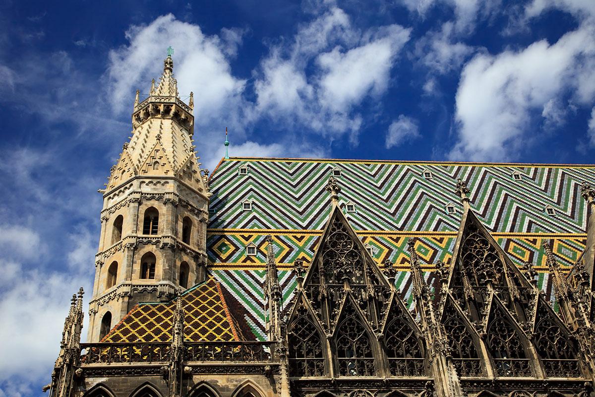 Необычная крыша храма