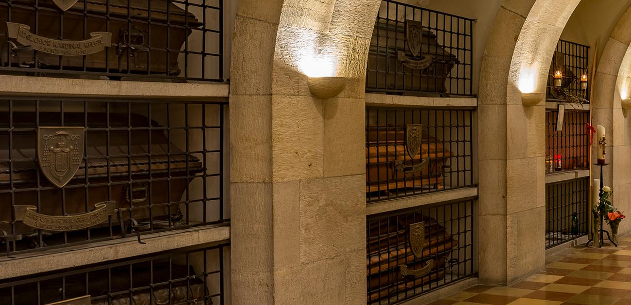 В катакомбах собора