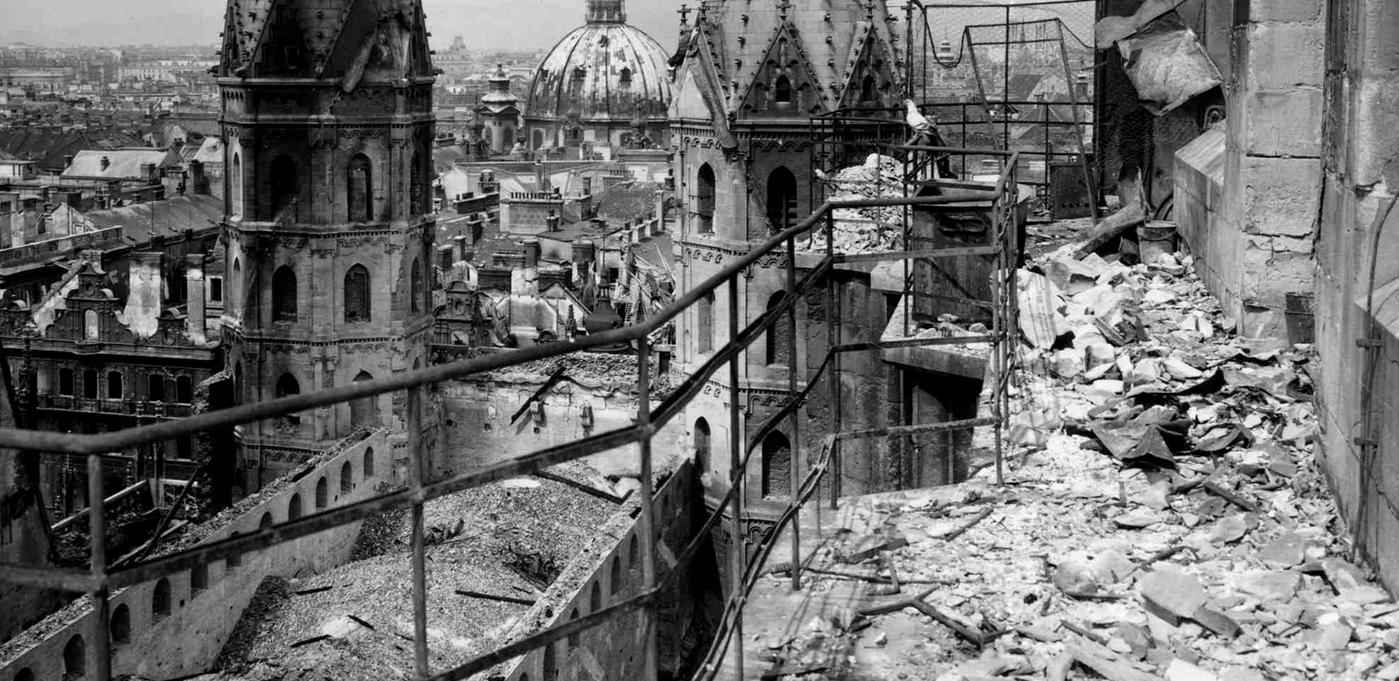 Собор Святого Стефана в период Второй мировой войны